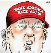 trump hate again