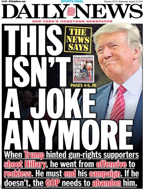 trump no joke now