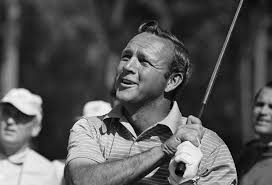 Arnold Palmer, as many will remember him on those black & white television screens back in the late 1950s and early to mid 60s when he dominated as a player