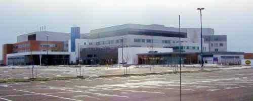 Niagara Health System's super hospital in the north Niagara community of St. Catharines
