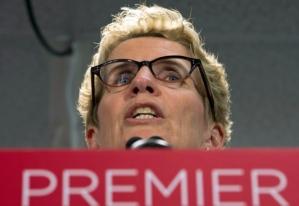 Ontario Premier Kathleen Wynne celebrates Labour Day