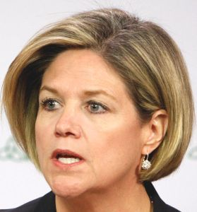 Ontario NDP Leader Andrea Horwath still fighting privatization of province's hydro system.