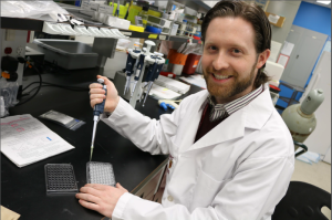 McMaster University researcher Matthew Miller part of team working toward a universal flu vaccine