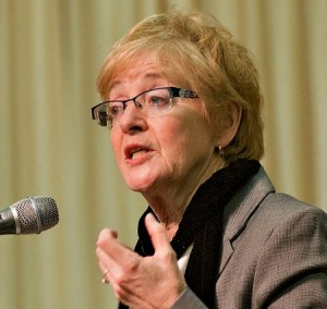 Council of Canadians chairperson Maude Barlow has been a long-time opponent of privatizing the country's water resources