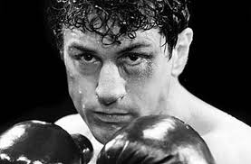 Robert De Niro as Jake LaMotta in the 1970s film classic 'Raging Bull'