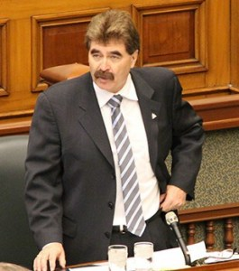 Niagara Falls MPP for Niagara Falls Riding and NDP rep Wayne Gates in provincial legislature