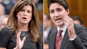 Rona Ambrose and Justin Trudeau slug it out in House of Commons