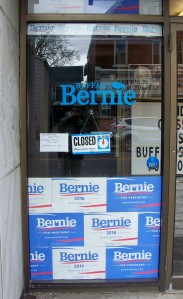 The former Bernie Sanders campaign office in Buffalo, New York - file photo, Doug Draper