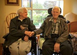 Niagara couple Clarence and Jessie Terpstra facing forced separation after seven decades together.