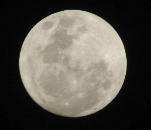"Photo of ""supermoon"" shared by Niagara, Ontario resident Linda McKellar."