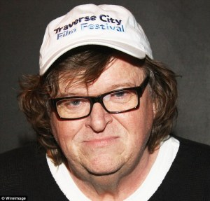 American filmmaker and activist Michael Moore journeys to Trumpland