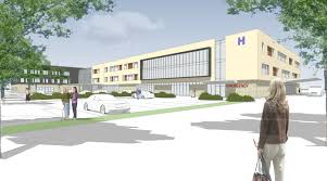 A rendering of a new West Lincoln Memorial Hospital in Niagara that - after more than a decade - has still not been approved by the province to be built.