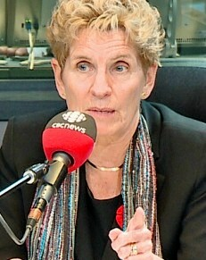 Ontario Premier Kathleen Wynne on CBC earlier this Novmeber, saying on of the lessons for politicians from Trump's election victory is to pay more attention to the concerns of everyday people.