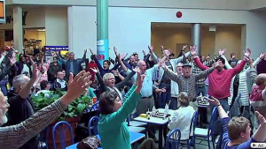 Hallelujah Chorus goes viral in a Niagara, Ontario shopping mall