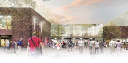 Concept drawing of Pelham Community Centre