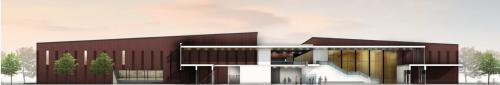 New Pelham Community Centre, concept drawing