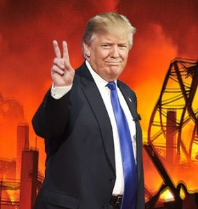 The Trump inferno is just getting started and, putting aside all those Americans who talk about maybe fleeing to Canada, there may be no place in the world where people won't get cinged.