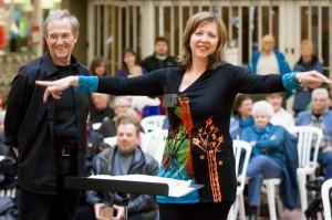 Chorus Niagara in performance