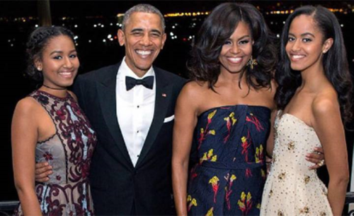 Outgoing U.S. President Barack Obama this past Holiday Season with his wife and First Lady Michelle and their daughters Malia and Sasha. We may very well miss them when they are gone.