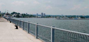 Hamilton's waterfront area