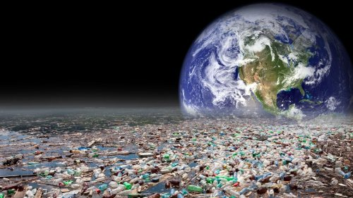 The earth plus plastic - our lasting legacy.