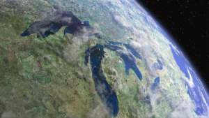 Our Great Lakes from space