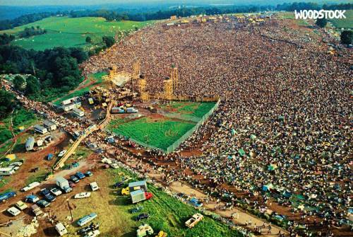 Remembering The Fleeting Magic Of Woodstock, 50 Years On